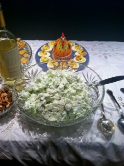 Watergate Salad Recipe Using Flavored Kraft FunMallows