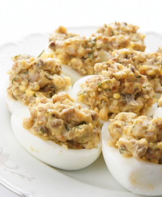 Stuffed Eggs. Image: © Fedor Kondratenko | Dreamstime.com