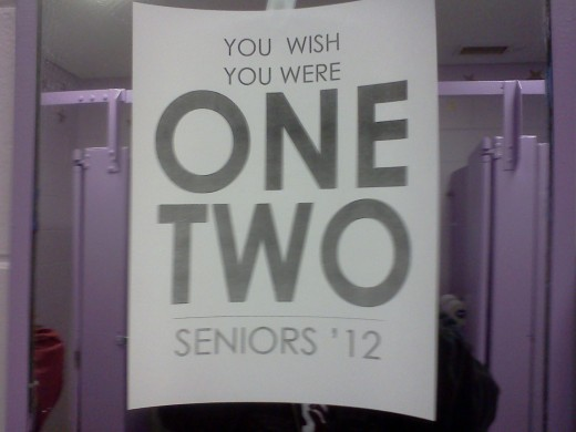 Seniors 2012 - It's Not The End, It's Just The Beginning!
