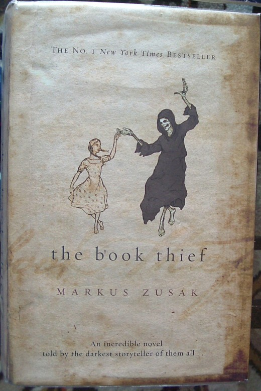 Cover of 'The Book Thief' by Markus Zusak