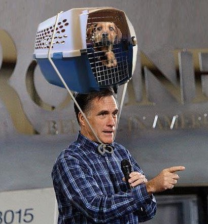 Romney No Longer Puts Fido on Top of His Car