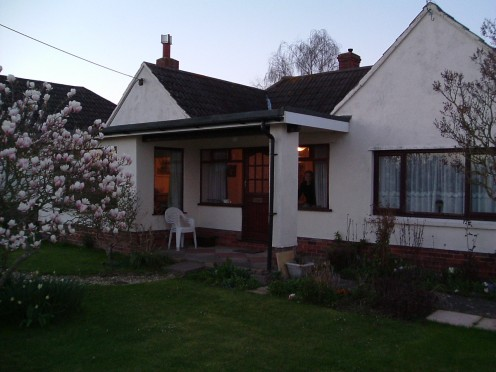 Fairfield, 2 Chestnut Lane, Ashcott, Somerset, England; another bungalow I loved