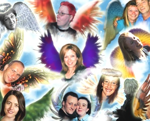 Hub Angels Giving Empowering Love Bursts