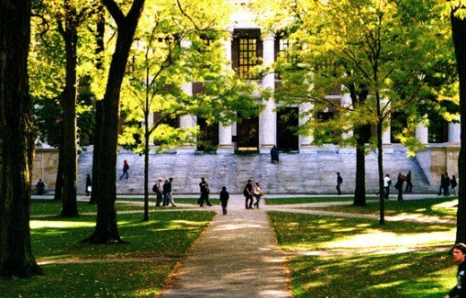 Widener Library, Harvard Yard