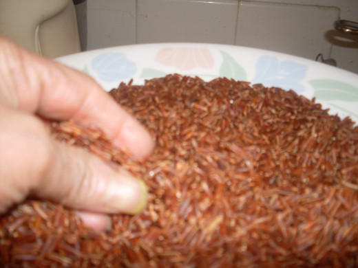 Red Cargo Rice