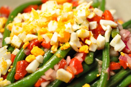 Spanish Green Bean Salad Image: © Siu Ling Hui