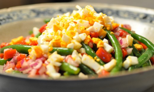 Spanish Green Bean Salad. Image: © Siu Ling Hui
