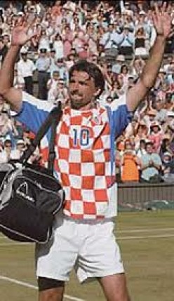 Goran Ivanisevic - Croatian Athlete and Wimbledon Champion