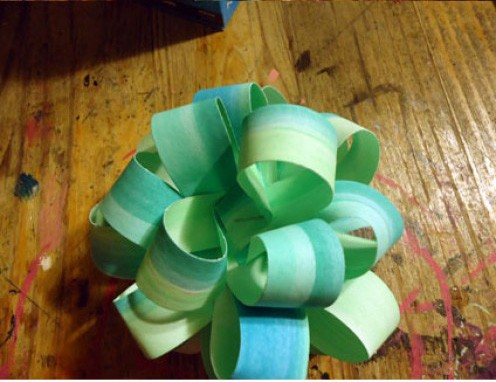 Homemade Gift Bow #3