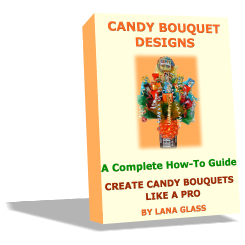 This E-book reveals everything you need to know to create beautiful candy bouquets, like a Pro, for any occasion that will make amazing gifts for your friends, family, or colleagues.