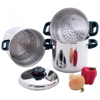 Chef's Secret® 4pc T304 Surgical Stainless Steel Multi-Cooker