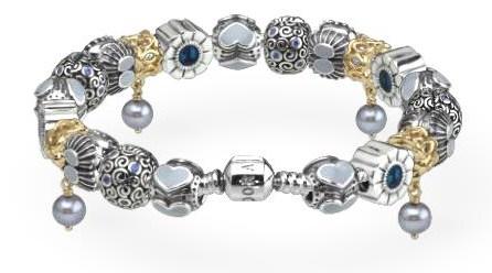 Blue Pandora Bracelet