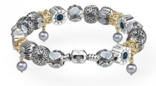 blue pandora bracelet - Bracelet Design Ideas