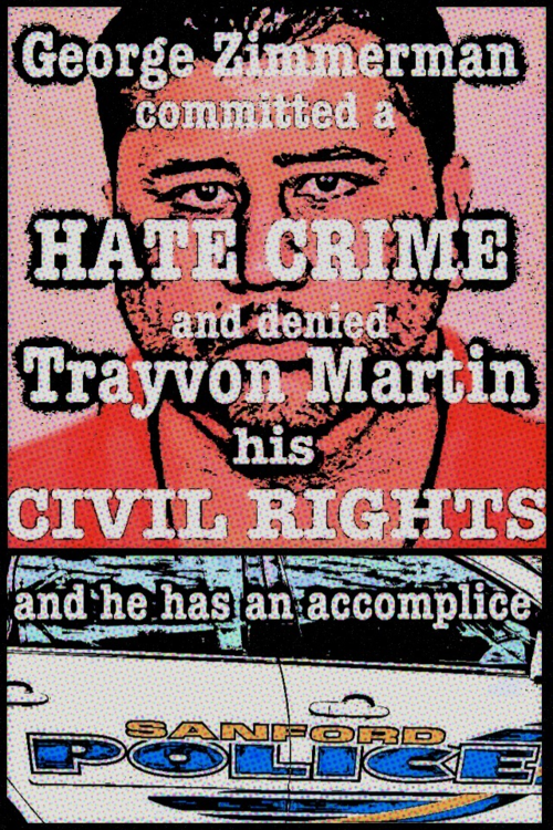 "George Zimmerman uttered ""Fucking Coons"" on the 911 tape as he CHASED Trayvon Martin."