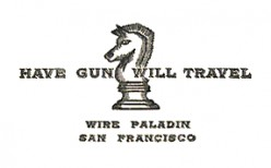 HAVE GUN WILL TRAVEL-REVIEW OF A CLASSIC TELEVISION SHOW