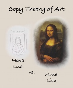 The problem of the copy theory of art...