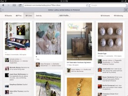 Things I have 'liked' on Pinterest