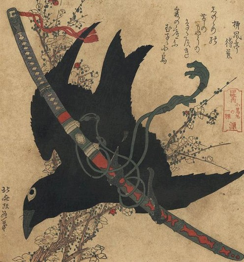 Favorite Crow - Hokusai