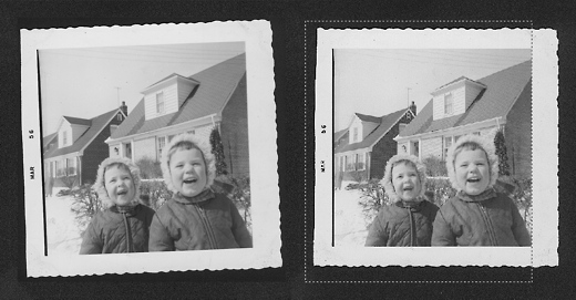 straightening a photo for scanning - images by timorous