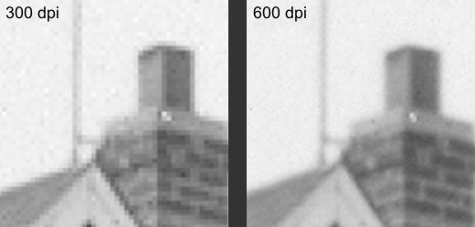comparison of 300 dpi and 600 dpi - images by timorous
