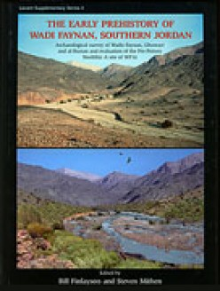 The book cover depicts the area as it today; and, how Stephen Mithen believes it used to be.