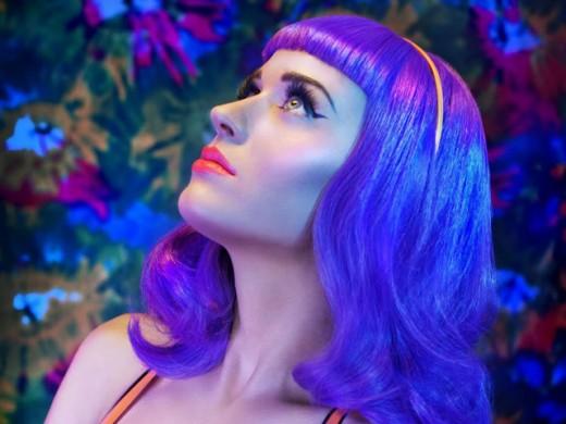 Katy Perry in freaky hair