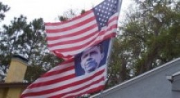 I find the flying of this flag over the Lake County Democratic Headquarters in Florida more than a bit offensive.