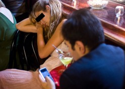 """AVOID, PLEASE, THE USE OF A CELL PHONE ON YOUR DATE. THIS IS A SURE-FIRE ROMANCE """"DEAL-BREAKER."""""""