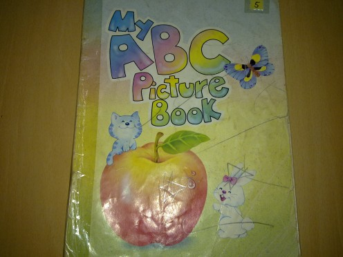First ABC  Picture book with real pictures
