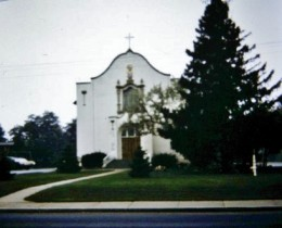 St. Joan of Arc Catholic Church in Okauchee, Wisconsin where my parents were married and my brothers and I were baptised.