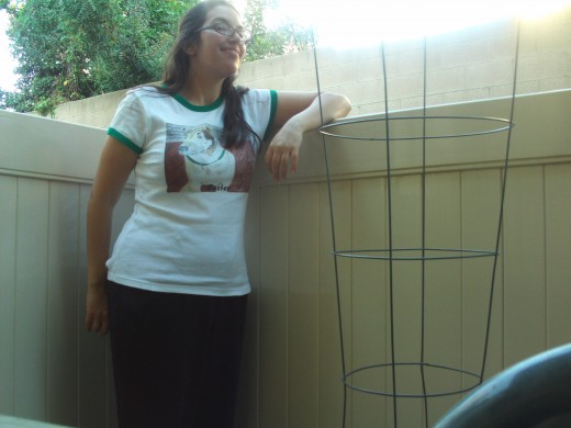 Yes, I was happy to wear my Buster shirt with the picture I drew of him standing on his favorite deck.  This is now one of my favorite shirts.