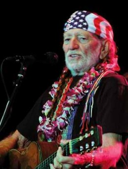 One of the most recognizable voices in country music, actor, singer, songwriter, activist... Willie Nelson.