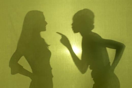 Teenagers Arguing