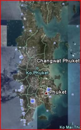 Phuket Island Aerial View