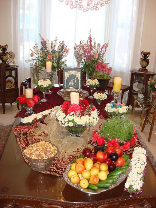 A Nowruz feast