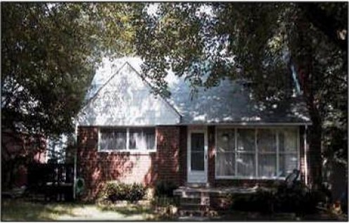 This was the second fixer upper... Much bigger ... added front porch, back fence, fill dirt in backyard, windows, finished upstairs interior with a back extension. Miscellaneous renov.