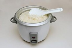 Rice Cooker. These can be found everywhere just about, and they are pretty cheap to uber expensive.