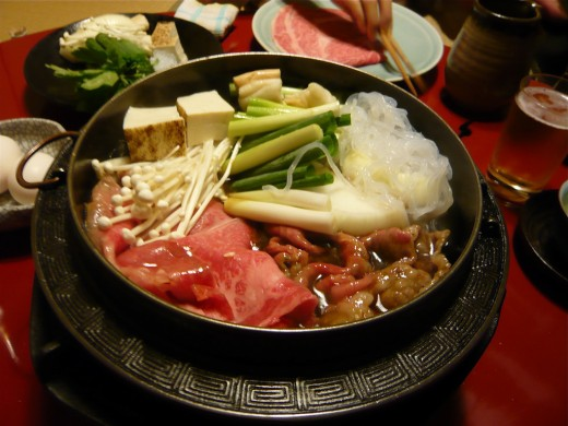 Japanese Hot Pot Sukiyaki Recipe