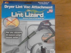 Featured at WalMart: Lint Lizard Dryer Lint Vac Attachment