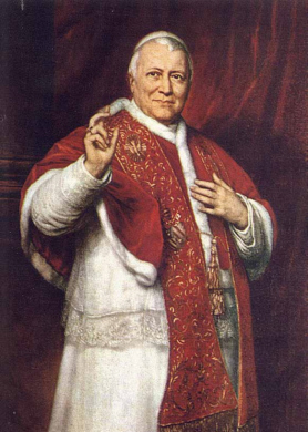 Pope Pius IX, excluding Saint Peter, the longest-reigning pope