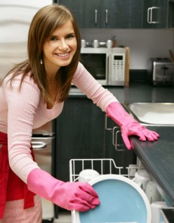 In a marriage where both couples work outside the home do women  still do most of the housework?