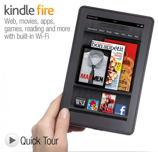 The Kindle Fire is Amazon's Pride And Joy