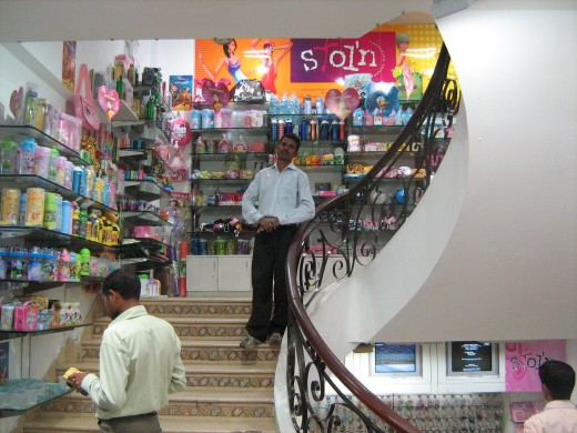 A prominent women store in Rajouri Garden where you can buy all type of stuff for women. (To maintain the seriousness of this hub and so that no useless people searching for breasts come to read it, only this picture from my laptop came to my mind.