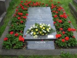 Tauber's Gravestone - Bromptom Cemetary, London