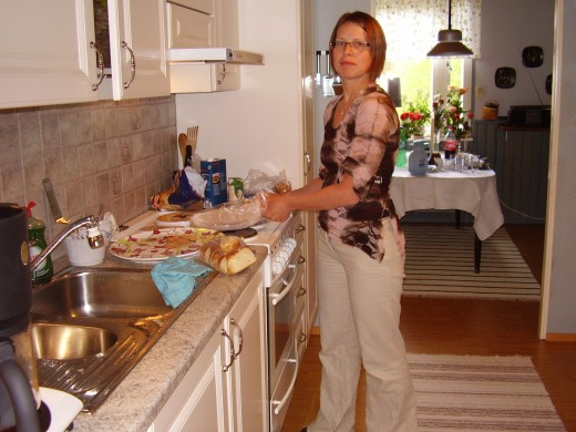 In her mother's kitchen Madeleine is and will always be Made