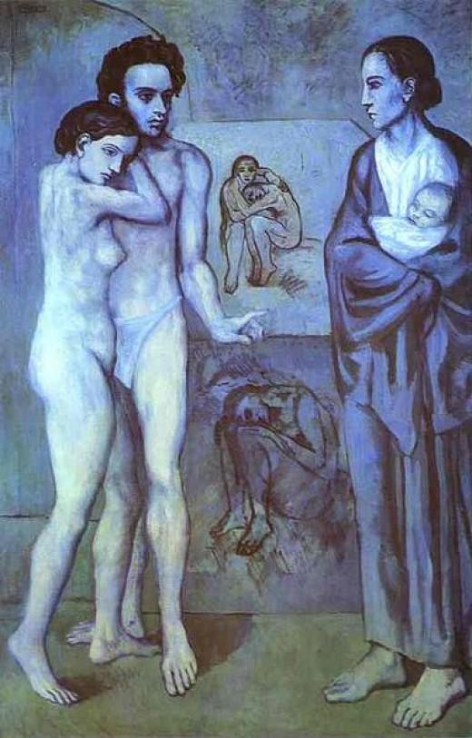 La Vie 1903 Blue Period - The Cleveland Museum of Art.