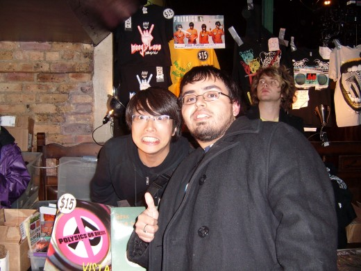 Me and Hiro! Man i look fat!