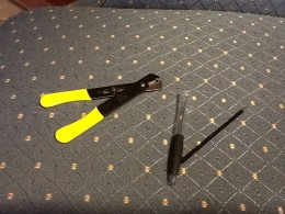 Cutting the Tip of a Ballpoint Pen