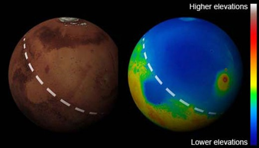 In the last decade, scientists may have uncovered the secret of Mars' split personality.