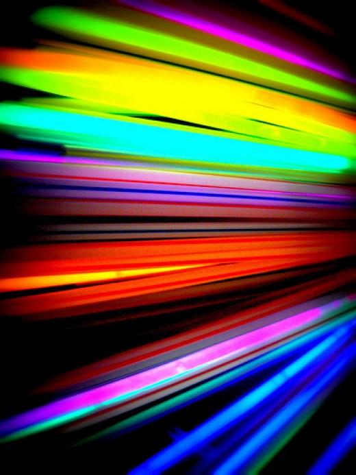 105 glow sticks